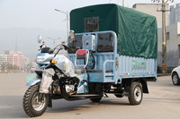 canvas cover of three wheelers cargo and passenger tricycle for heavy carrying