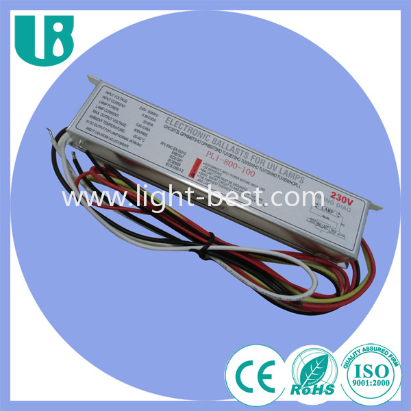 PL1-800-100 UV Germicidal Lamp Electronic Ballast for HO Type