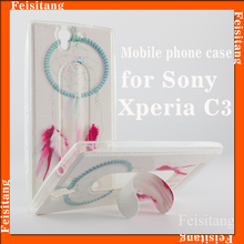 Stents cellphone shell back cover for Sony Xperia c3