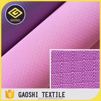 Pu Coated 600D 100% Polyester Ripstop Waterproof Oxford Fabric For Sofa