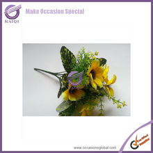 #K4446 Hibiscus flowers factory direct artificial flowers