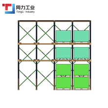 Low Cost Cold Storage Metal Steel Drive-in Pallet Rack System