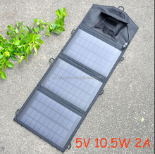 18W Folding Solar Panel Battery Charger Backup for Laptop Tablet iPhone