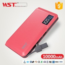 Fast charging Mirror promotional smart power bank best selling products in china