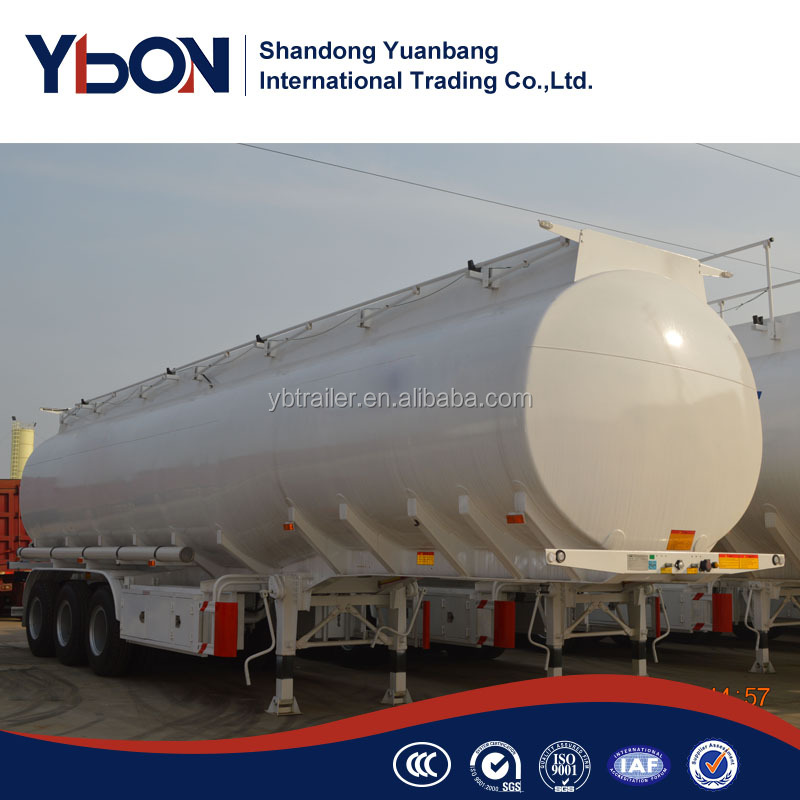 50000L cheap price oil tanker semi trailer diesel fuel tanker trailer for sale