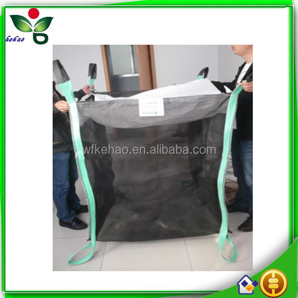 Seasoned bulk mesh bags for firewood kindling wood timer china factory