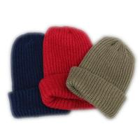 Multifunctional screen printed knit hats
