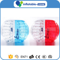 Inflatable bumper bubble soccer ball, human soccer bubble football