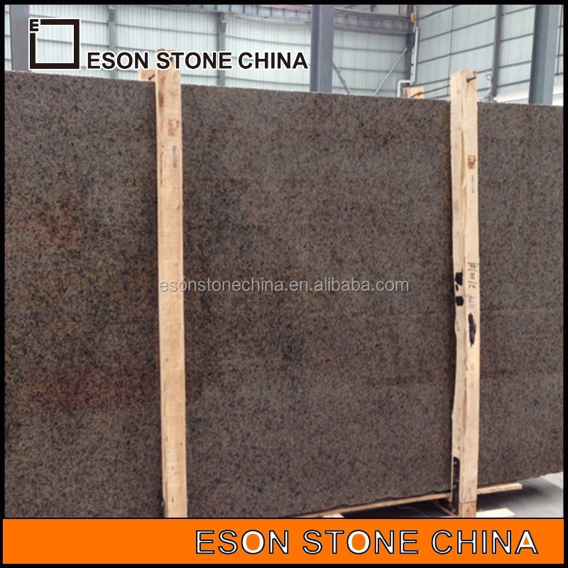 golden brown granite slab for sale