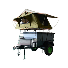 China made semi off road low bed camping trailers with best price