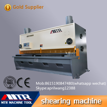 QC11Y-6*2500 Electric Guillotine Shearing plate metal cutting Machine for sale
