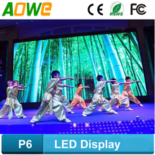 DIP/SMD waterproof TV indoor hd video china led display with CE RoHS