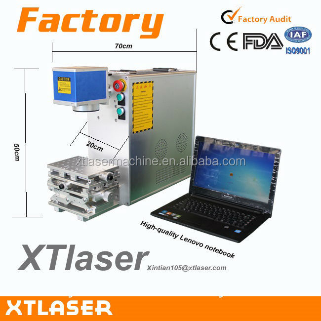 CE FDA certificate New design fiber laser engraving machine mobile phone case for AI BMP PLT files