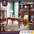 Wholesale home office furniture set , antique design wooden office desk set