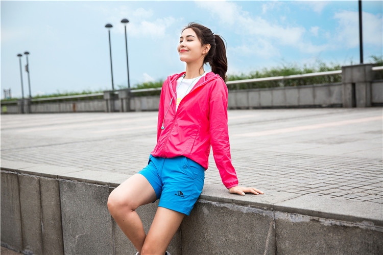 Summer Outdoor Wear Skin Jacket Anti UV Jacket Women Sun Protective Clothing