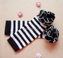 Wholesale Cute Print Baby Leg Warmers/Leggings with Ruffles