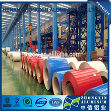 Building materials PE PVDF color coated aluminum coil 1000 3000 8000 series for fishing boats