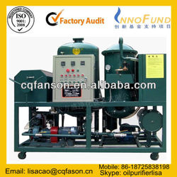Sell Used Motor Decoloration Oil Purifying, Vacuum Transformer Oil Recondition / Hydraulic Oil Recycling/ Oil Regeneration Plant