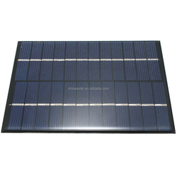 2w 12v Solar Panel Module For Light Battery Cell Phone Mini Charger