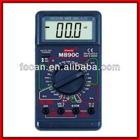 LCD Digital Multimeter Avometer Voltmeter Ammeter Electric Tester DMM Multimetro Multitester M890D
