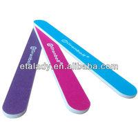 Etalady promotional natural nail file, nail file system