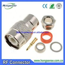 [Factory price]RF connector/cable buy 75ohm f plug catv coaxial rg6 conectores