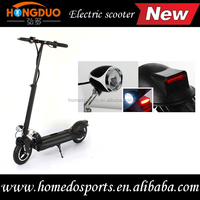 10 inch 400w cheap price china mini folding portable off road electric scooter stand up adult electric scooters with led light