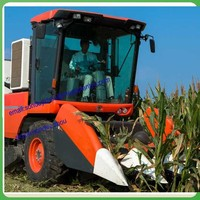 Mini-corn harvester machine/tractor-mounted corn harvester machine/corn maize combine harvester prices