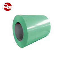 ppgi prepainted corrugated steel, AZ coating prepainted ppgi color coated hot dipped galvanized steel coil