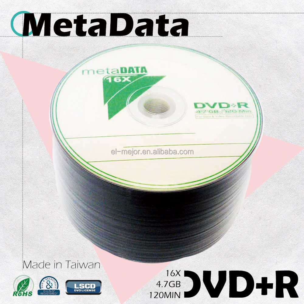 2017 New Product DVD+R Wholesale for movies and music duplicate