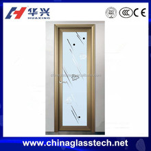 CE certificate color customized aluminum alloy profile main door designs single door