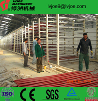 eps cement sandwich panel production line/fiber cement board machine,/lightweight