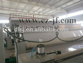 Flat head die geomembrane extrusion machine 5300mm