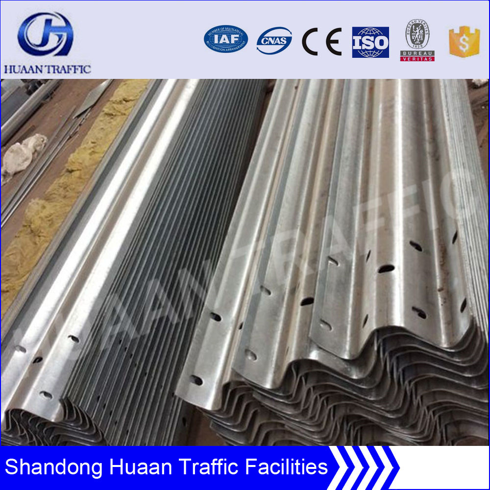 Anti rusting durable highway safety guardrail