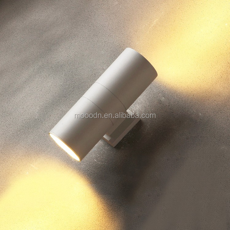 Outdoor Waterproof IP65 Aluminum Cylinder Tube Courtyard Landscape 18W round led wall washer,M4005