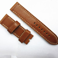 22mm leather cuff watch band