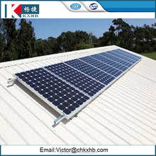 10kw 2017 hot sale solar panel roof mounting brackets tin roof solar mounting system