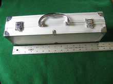 Aluminum Instrument Tool Hobby Sample Carry Case