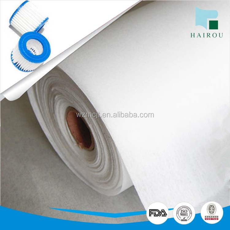 nonwoven white filteration black tea bag filter paper`with FDA
