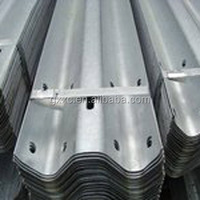 China Steel Corrugated AASHTO Standard W Beam Galvanized Road Guardrail/ Barrier