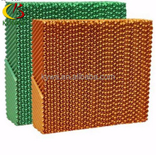 Kraft paper made cooling pad or wet curtain for chicken farm