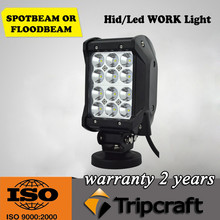 high power 4x4 36w led driving light bar offroad 4 rows led light bar