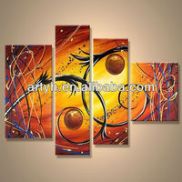 Popular handmade home decor canvas painting projects