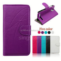 Hot selling mobile phone case design flip leather cover for Gfive G9