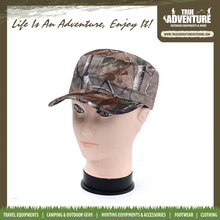 True Adventure TA3-014 Woodland Real Tree Jungle Flat Top Hunting Camouflage Military Cap