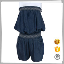 Clothes supplier Casual Beautiful fashion jeans jumpsuit