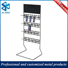 rack display steel rack keychain display stand