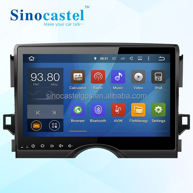 Car Audio GPS DVD Player Android 5.1.1 System For 10.1 inch 2 Din Toyota Reiz 2014