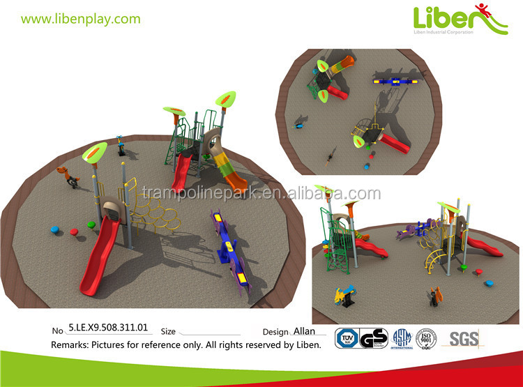 Liben preschool outdoor playground seesaw classic outdoor playground equipment