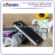Carbon fiber Hard Phone Case Phone cover for Samsung Galaxy S4 i9500 Paypal Acceptable